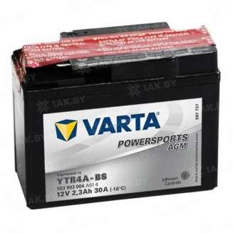 Аккумулятор VARTA (2.3 Ah) 30 A, 12 V Боковое расположение 0