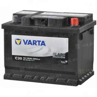 Аккумулятор VARTA (55 Ah) 420 A, 12 V Обратная, R+ 0