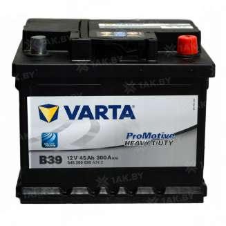 Аккумулятор VARTA (45 Ah) 300 A, 12 V Обратная, R+ 0