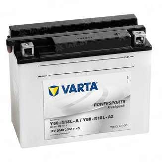 Аккумулятор VARTA (20 Ah) 260 A, 12 V Обратная, R+ 0