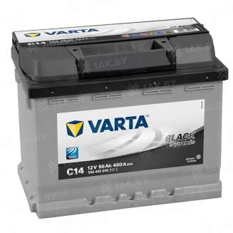 Аккумулятор VARTA (56 Ah) 480 A, 12 V Обратная, R+ 0