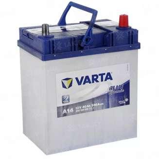Аккумулятор VARTA (40 Ah) 330 A, 12 V Обратная, R+ 0
