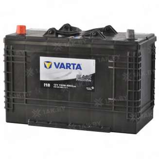 Аккумулятор VARTA (110 Ah) 680 A, 12 V Прямая, L+ 0