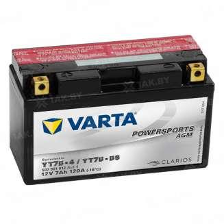 Аккумулятор VARTA (7 Ah) 120 A, 12 V Прямая, L+ 0