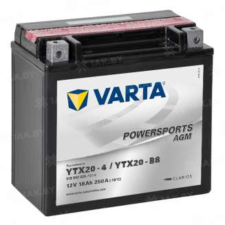 Аккумулятор VARTA (18 Ah) 250 A, 12 V Прямая, L+ 0