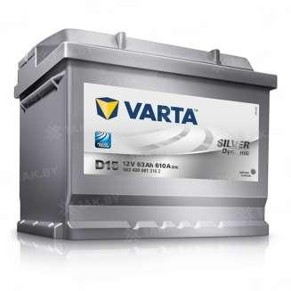 Аккумулятор VARTA (63 Ah) 610 А, 12 V Обратная, R+ 0