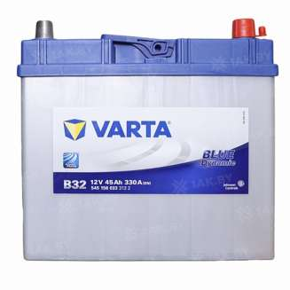 Аккумулятор VARTA (45 Ah) 330 A, 12 V Обратная, R+ 0