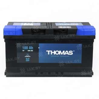 Аккумулятор THOMAS (100 Ah) 880 A, 12 V Обратная, R+ 1