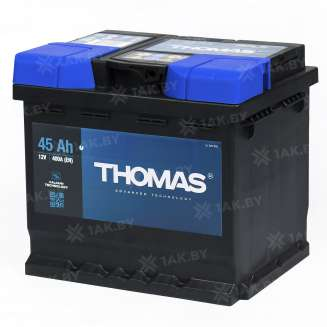 Аккумулятор THOMAS (45 Ah) 400 A, 12 V Обратная, R+ 1