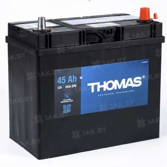 Аккумулятор THOMAS (45 Ah) 360 A, 12 V Обратная, R+ 0
