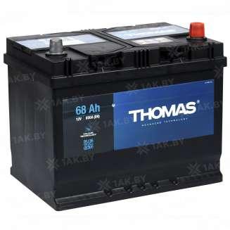 Аккумулятор THOMAS (68 Ah) 600 A, 12 V Обратная, R+ 0