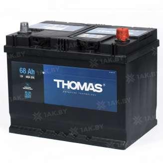 Аккумулятор THOMAS (68 Ah) 600 A, 12 V Обратная, R+ 1
