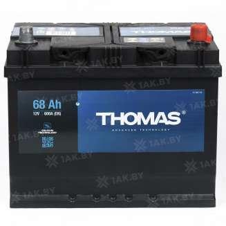 Аккумулятор THOMAS (68 Ah) 600 A, 12 V Обратная, R+ 2
