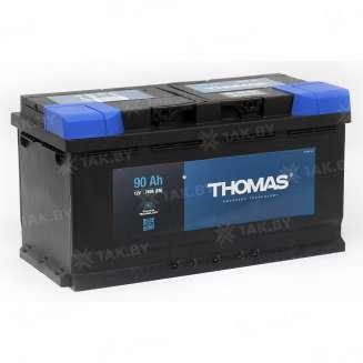 Аккумулятор THOMAS (90 Ah) 760 A, 12 V Обратная, R+ 0