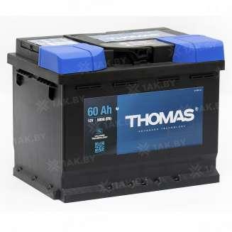 Аккумулятор THOMAS (60 Ah) 580 А, 12 V Обратная, R+ 0