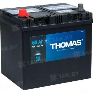 Аккумулятор THOMAS (60 Ah) 550 A, 12 V Прямая, L+ 1