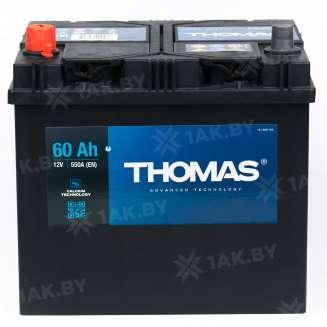 Аккумулятор THOMAS (60 Ah) 550 A, 12 V Прямая, L+ 2