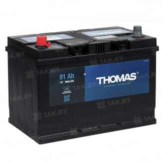 Аккумулятор THOMAS (91 Ah) 800 A, 12 V Прямая, L+ 0