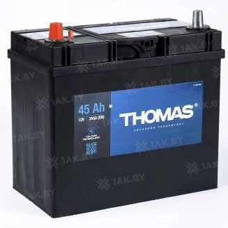 Аккумулятор THOMAS (45 Ah) 360 A, 12 V Прямая, L+ 0