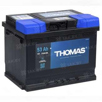 Аккумулятор THOMAS (53 Ah) 470 A, 12 V Обратная, R+ 0
