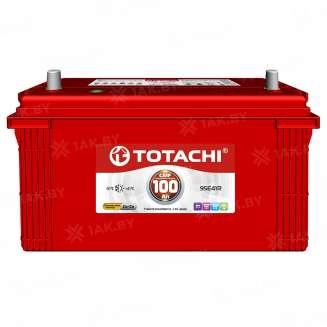 Аккумулятор TOTACHI (100 Ah) 830 A, 12 V Обратная, R+ 0