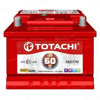 Аккумулятор TOTACHI (60 Ah) 480 A, 12 V Обратная, R+ 0