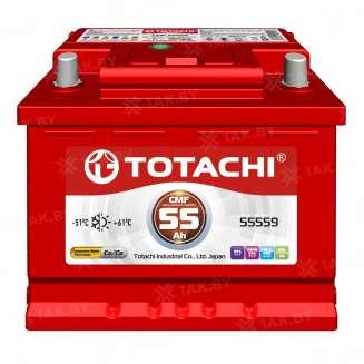 Аккумулятор TOTACHI (55 Ah) 480 A, 12 V Прямая, L+ 0