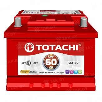 Аккумулятор TOTACHI (60 Ah) 480 A, 12 V Прямая, L+ 0