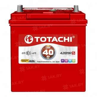 Аккумулятор TOTACHI (40 Ah) 330 A, 12 V Обратная, R+ 0