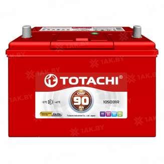 Аккумулятор TOTACHI (90 Ah) 670 A, 12 V Обратная, R+ 0