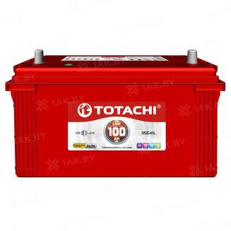 Аккумулятор TOTACHI (100 Ah) 830 A, 12 V Прямая, L+ 0