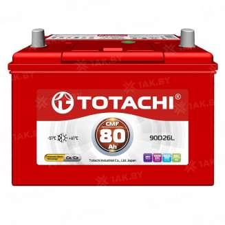 Аккумулятор TOTACHI (80 Ah) 600 A, 12 V Прямая, L+ 0
