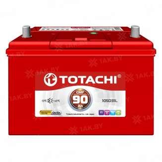 Аккумулятор TOTACHI (90 Ah) 670 A, 12 V Прямая, L+ 0