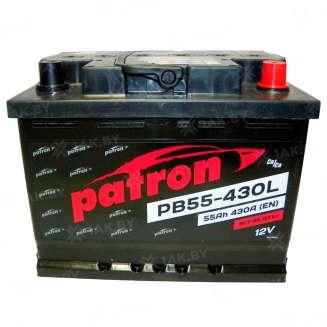 Аккумулятор Patron (55 Ah) 430 A, 12 V Обратная, R+ 0