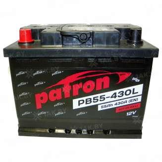 Аккумулятор Patron (55 Ah) 430 A, 12 V Прямая, L+ 0