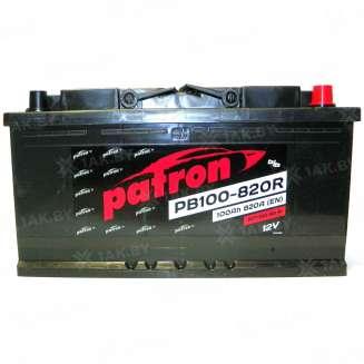 Аккумулятор Patron (100 Ah) 820 A, 12 V Обратная, R+ 0