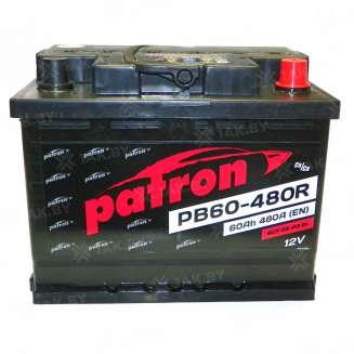 Аккумулятор Patron (60 Ah) 480 A, 12 V Обратная, R+ 0