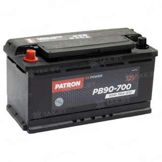 Аккумулятор Patron (90 Ah) 700 A, 12 V Прямая, L+ 0