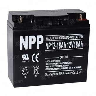 Аккумулятор NPP (18 Ah) , 12 V 0