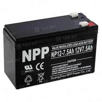 Аккумулятор NPP (7.5 Ah) , 12 V 0