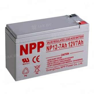 Аккумулятор NPP (7 Ah) , 12 V 0
