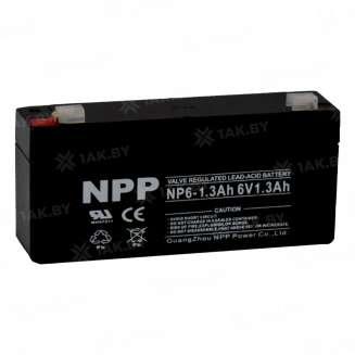 Аккумулятор NPP (1.3 Ah) , 6 V 0