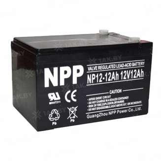 Аккумулятор NPP (12 Ah) , 12 V 0