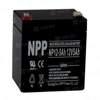 Аккумулятор NPP (5 Ah) , 12 V 0