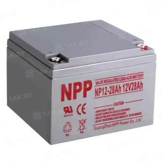 Аккумулятор NPP (28 Ah) , 12 V 0