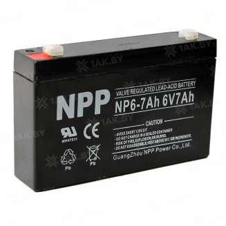 Аккумулятор NPP (7 Ah) , 6 V 0