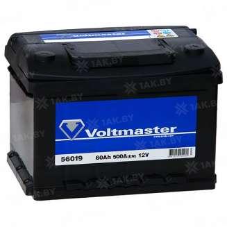 Аккумулятор VOLTMASTER (60 Ah) 500 A, 12 V Обратная, R+ 0