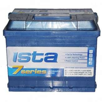 Аккумулятор ISTA (60 Ah) 600 A, 12 V Обратная, R+ 0