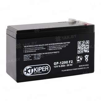 Аккумулятор Kiper (9 Ah) , 12 V 0