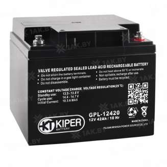 Аккумулятор Kiper (42 Ah) , 12 V 0